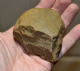 "An excellent & rare, Early Paleolithic European ""Oldowan Industry"" pebble handaxe, Portugal SOLD"